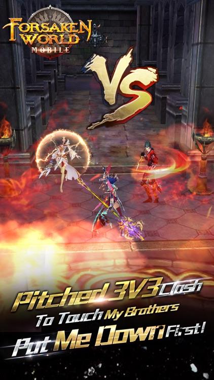 Forsaken World Mobile MMORPG screenshot-4