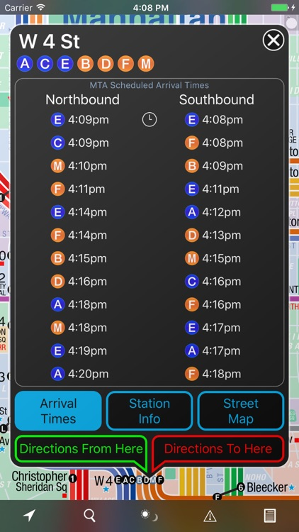NYC Subway 24-Hour KickMap (Universal) screenshot-3