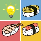 Find the pair sushi-free matching games for kids icon