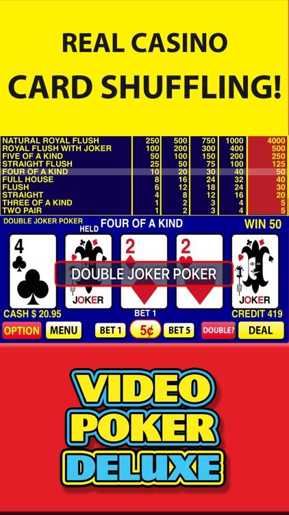 Video Poker Deluxe - Vegas Casino Video Poker Game screenshot-4