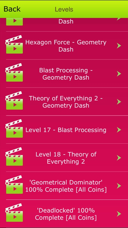 Comprehensive Level Guide for Geometry Dash screenshot-1