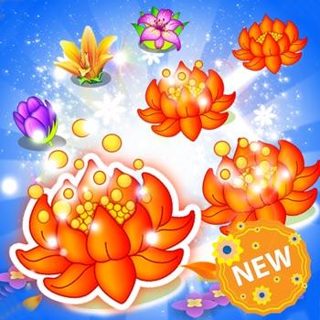 Blossom Paradise Free: Flower Blast Saga Jelly