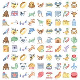 1000 iMessage Stickers