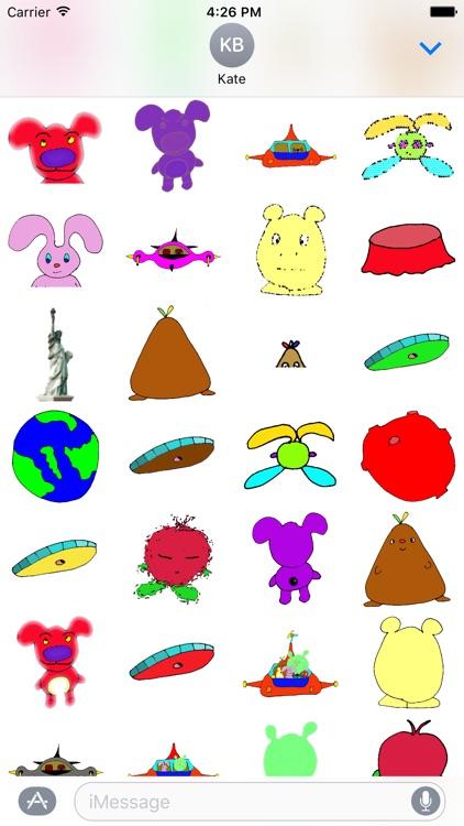 Kids World Stickers