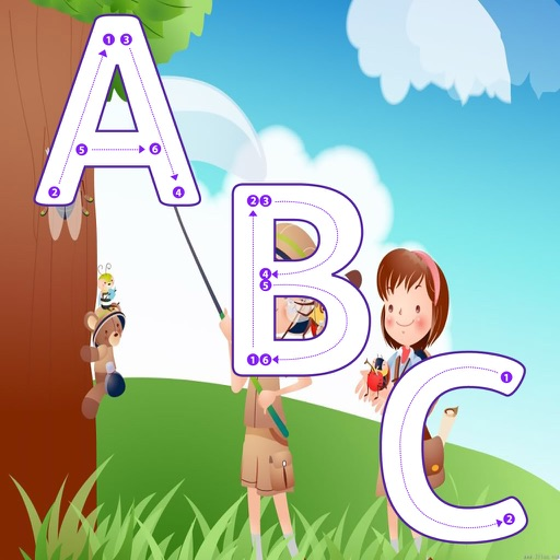 ABC Tracing Handwriting Learn to Write Letters