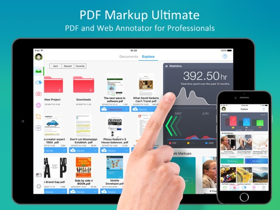 PDF Markup Ultimate - Annotate PDFs and Web Pages Screenshot
