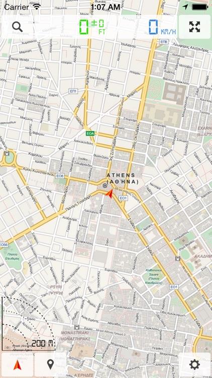 Greece, Crete - Offline Map & GPS Navigator