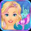 Ice Princess Mermaid Salon: Girls Makeover Games