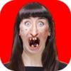 醜い 顔 写真 編集者 - おかしい カメラ ステッカーアイコン