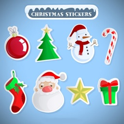 100+ Full Pack Xmas Sticker