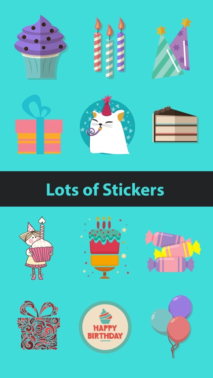 Birthday Stickers- show em how you feel