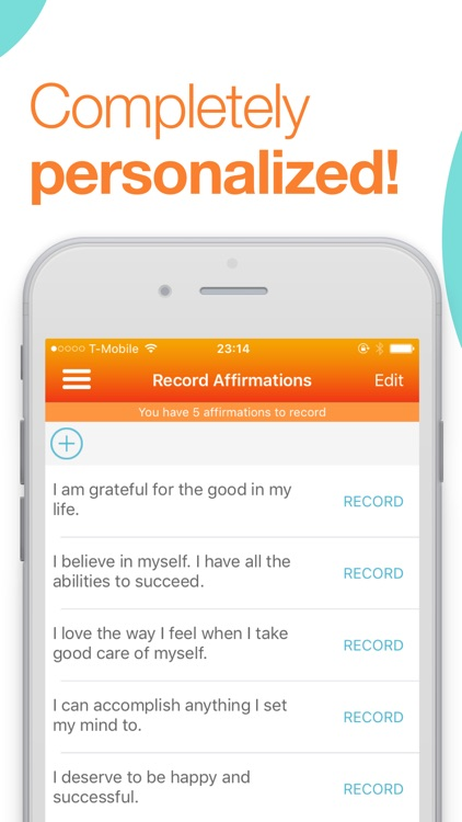 ThinkUp: Positive Affirmations & Motivation Daily screenshot-3