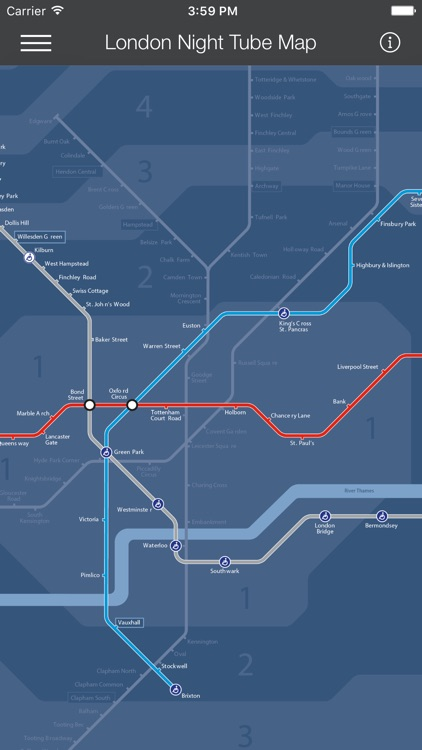London Tube Map - LON screenshot-3