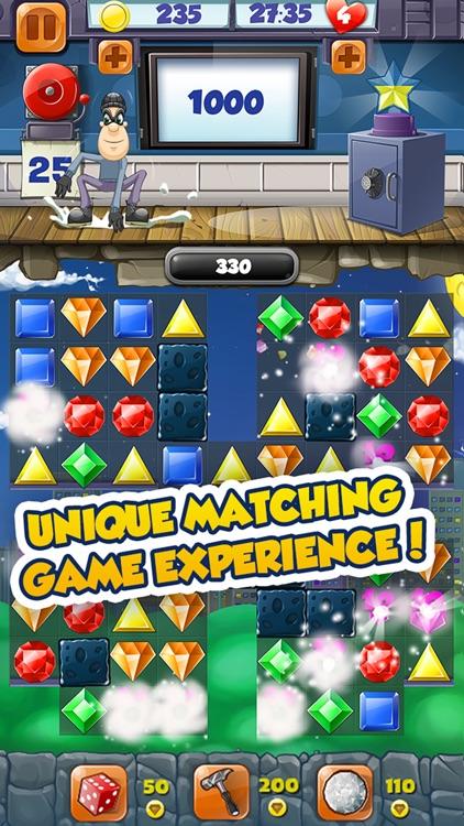 Jewel Blast Thief Quest Adventure – Match 3 Puzzle