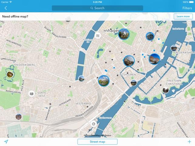 Koopenhamina Matkaopas Offline Kartta App Storessa