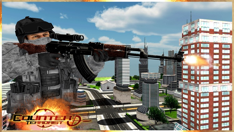 Elite Roof-top Sniper Assassin: Shoot Secret Agent screenshot-4