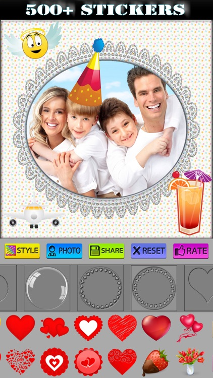 Best Photo Frames and Stickers