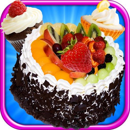 Cake Bites Make & Bake - Cooking Dessert Kids Game