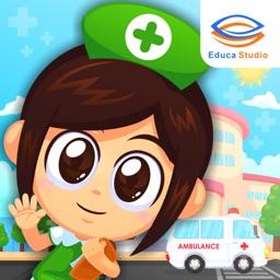 Marbel Hospital - My Doctor, Kids, Simulation Game