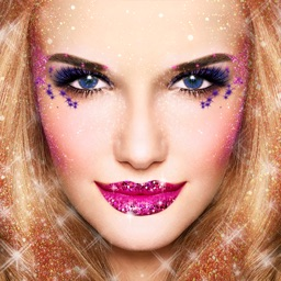 Glitter Makeup Camera - Glamour Makeup Effect