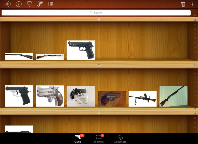 Gun & Ammo Collectors for iPad screenshot-2