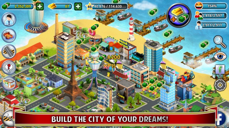 City Island - Building Tycoon - Citybuilding Sim screenshot-0