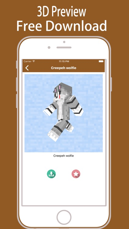 FNAF SKINS App for Minecraft PE