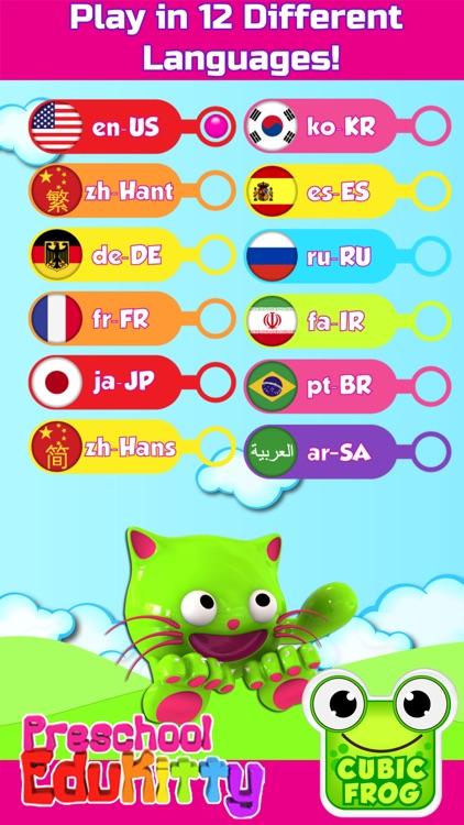 Preschool EduKitty-Kids Games screenshot-4