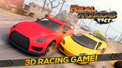 Real Roads | Crazy Speed Car Desert Racing Game