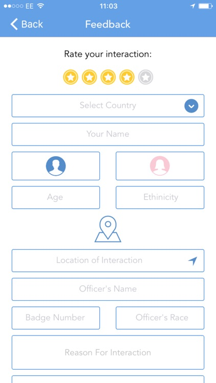 MyRights - Know Your Rights & Rate The Police screenshot-4