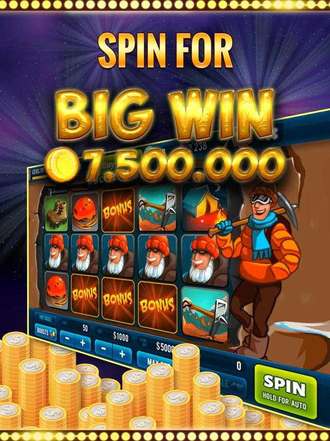 Rock Climber Slot Game Screenshot