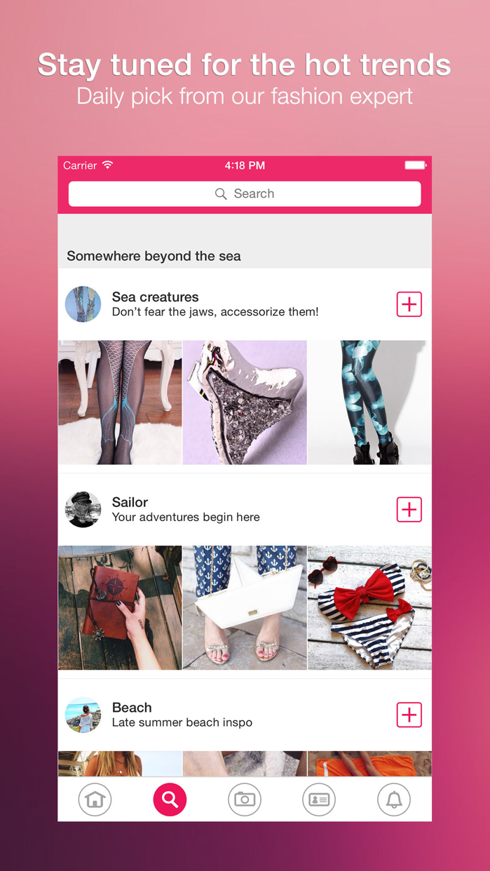 Wheretoget - Fashion shopping Screenshot
