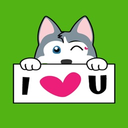 Siberian Husky Stickers - Dog Stickers and Emoji