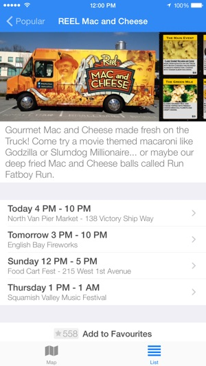 Street Food Vancouver On The App Store