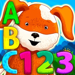Letter-eating alphabet with funny animals!