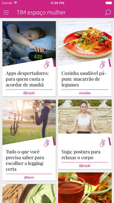 TIM Espaço Mulher screenshot one