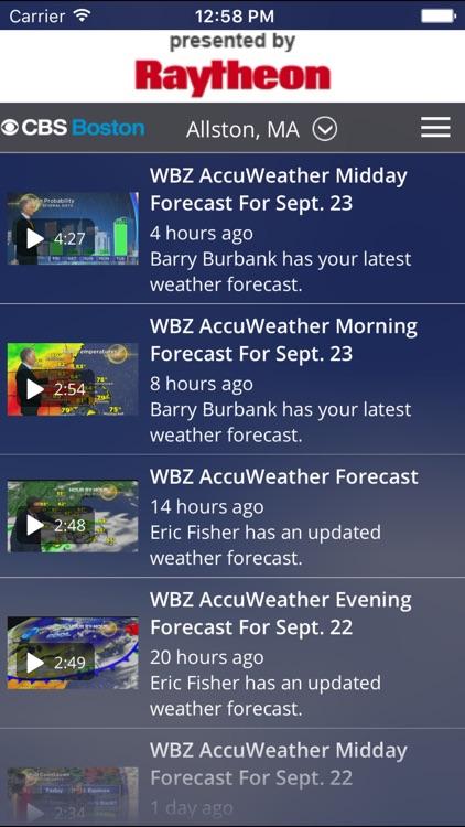 CBS Boston Weather screenshot-3