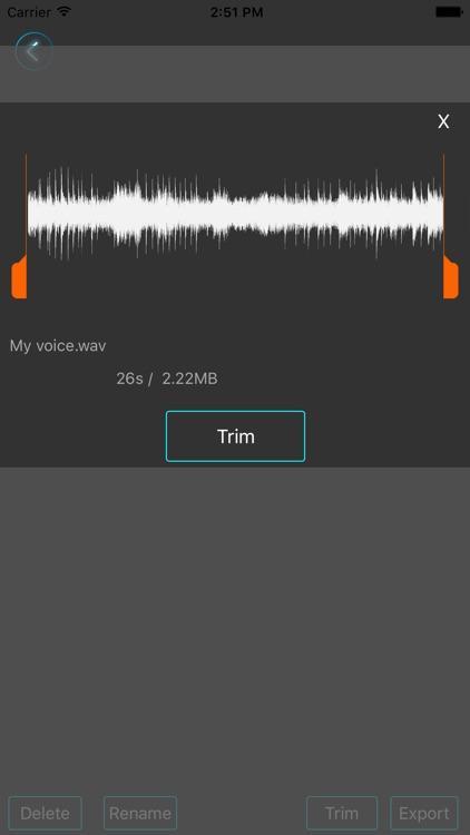 MightyMic Pro Recorder screenshot-3
