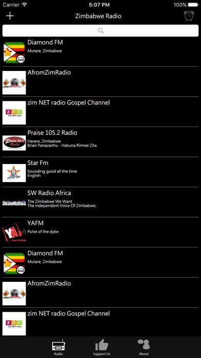 Zimbabwean Radio screenshot one