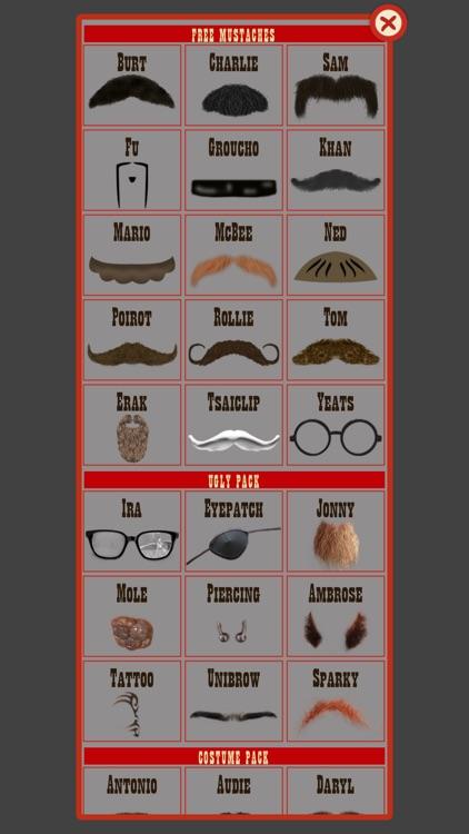 Man Hair Mustache Style