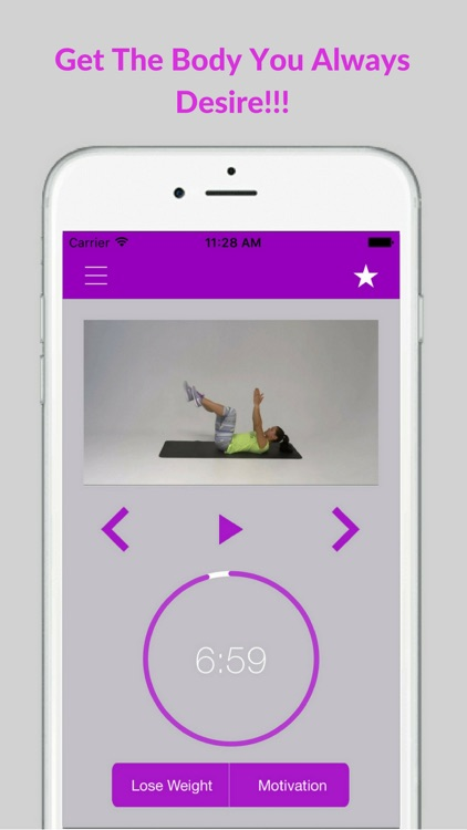 Flat Stomach Workouts Belly Fat Trainer Exercises screenshot-4