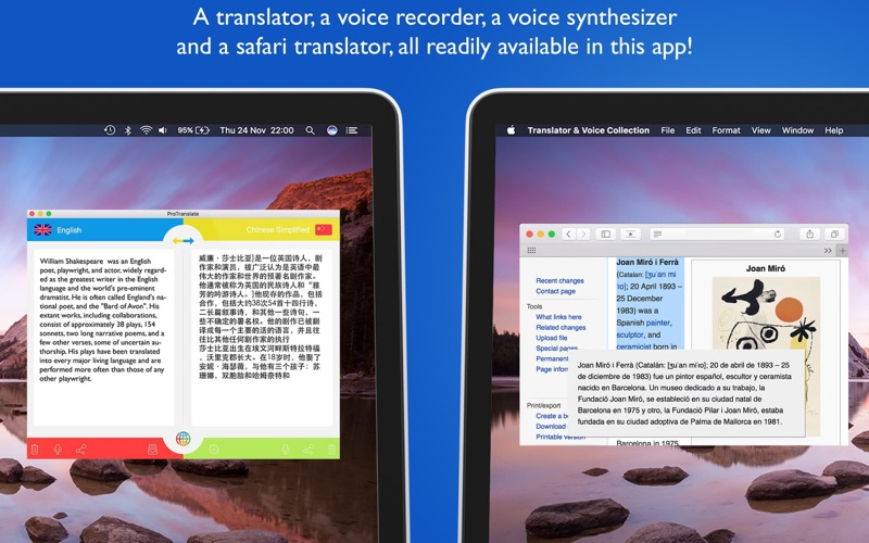 Translator & Voice Collection