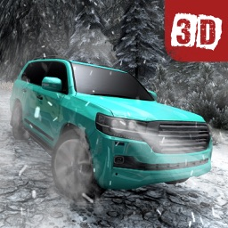 Offroad Cruiser Snow Driving