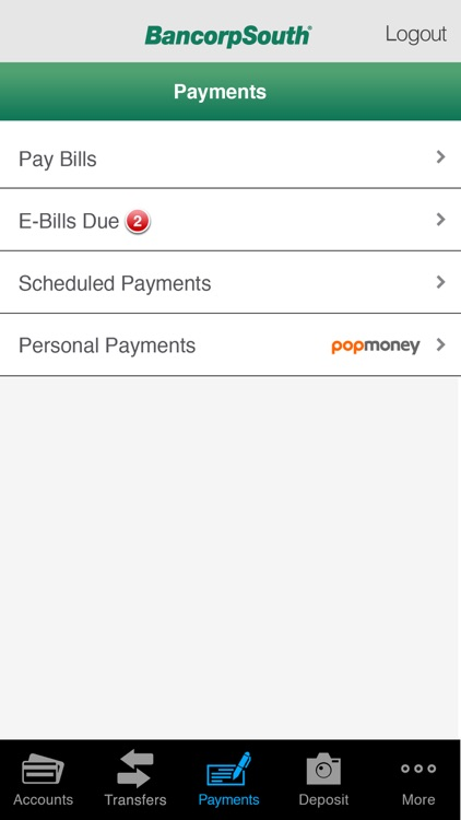 BancorpSouth Mobile screenshot-3