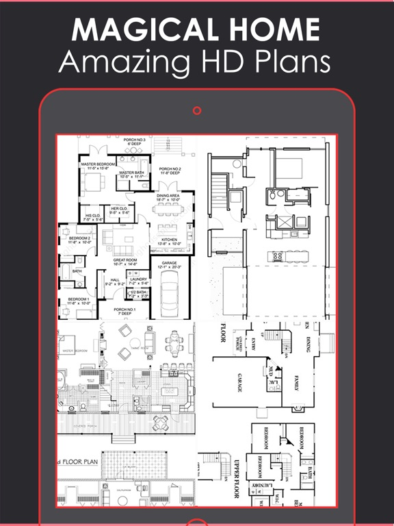 Magical Floor Plan | Layout & Home Designs catalog | App Price Drops