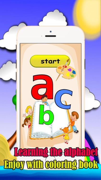 English Alphabet Coloring Book Fun Games For Kids