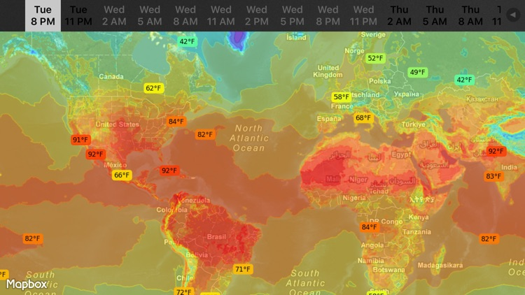 WeatherMap+ screenshot-4