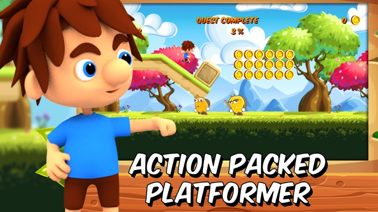 Hopper Steve - platformer games in adventure world screenshot-0