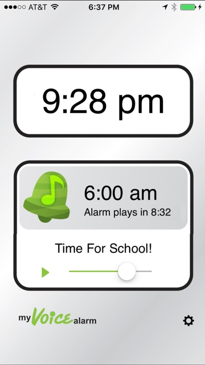 My Voice Alarm