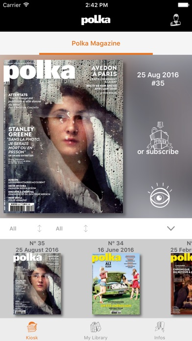 Polka, le magazine du photojournalisme sur iPad-capture-1